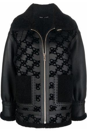 Fendi Monogram biker jacket