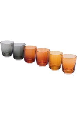 Pols Potten Set of 6 Library glasses (200ml)