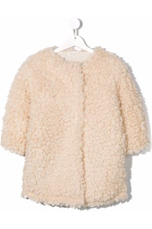 Babe And Tess Faux-shearling mid-length coat