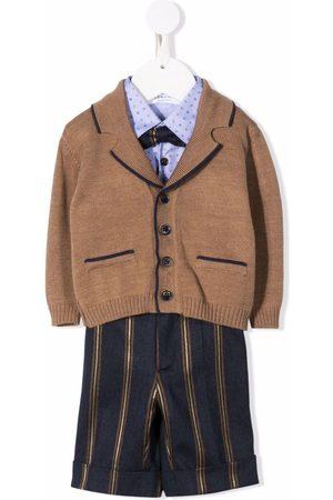 COLORICHIARI Baby Broeken - Tailored shirt trousers set