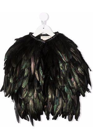 Le pandorine Feather mid-length coat