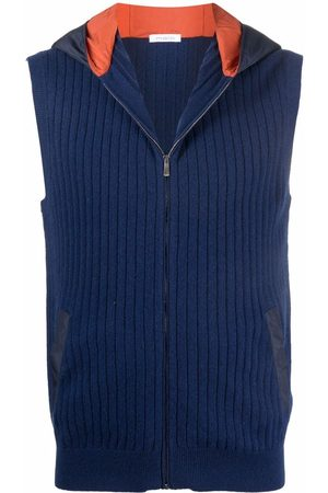 Malo Hooded cashmere gilet