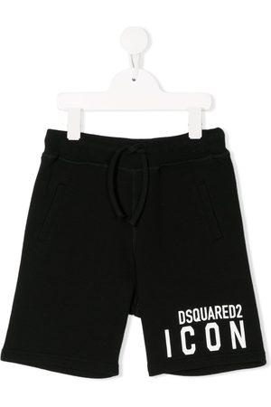 Dsquared2 Icon print track shorts