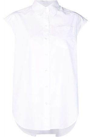 Dagmar Cap-sleeves cotton shirt