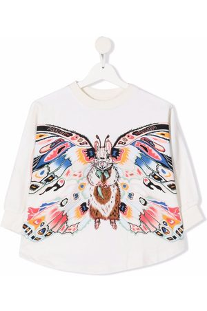 Molo TEEN Marcella embroidered detail poncho