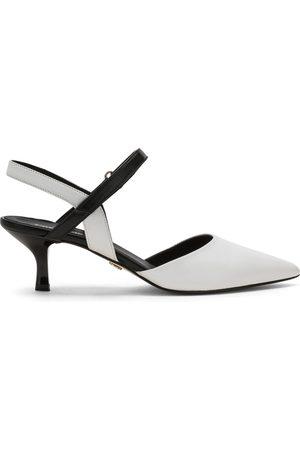 carmens With Heel White