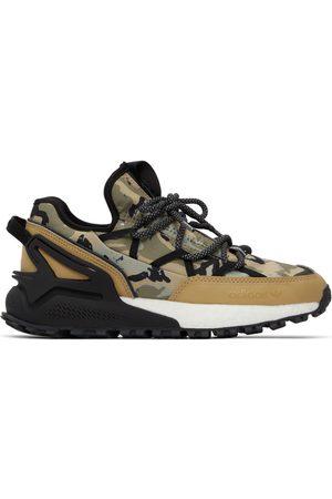 adidas Heren Sneakers - & Black Camo ZX 2K Boost Utility Sneakers