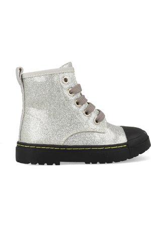 Shoesme Heren Bikerboots - Boots biker sw21w011-b zilver