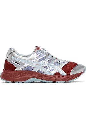 Asics Silver & Burgundy FN2-S Gel-Contend 5 Sneakers