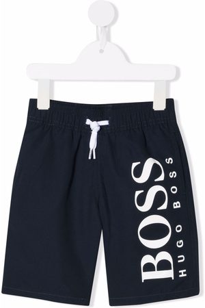 HUGO BOSS Logo-print swimshorts