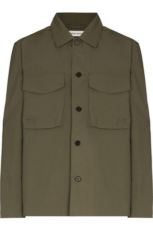 WoodWood Fabian button-up military jacket