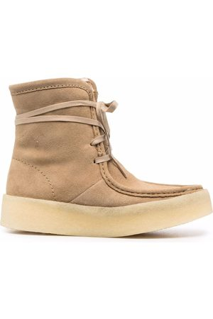Clarks Lace-up suede ankle boots