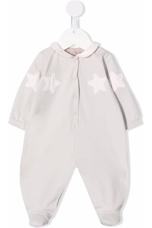 LA STUPENDERIA Star-patch cotton pajamas