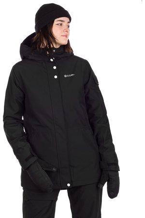 Coal Dames Donsjassen - Washburn Jacket zwart
