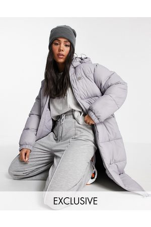 Dickies Dames Donsjassen - Atlanta long puffer jacket in lilac Exclusive at ASOS-Purple