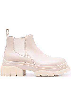 Ash Storm platform Chelsea boots