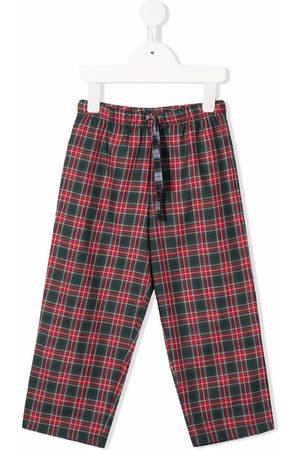 MC2 SAINT BARTH Tartan-check print trousers