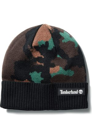 Timberland Maudslay Jacquard Beanie Voor Dames In Camouflage Camouflage Heren, Grootte ALLE