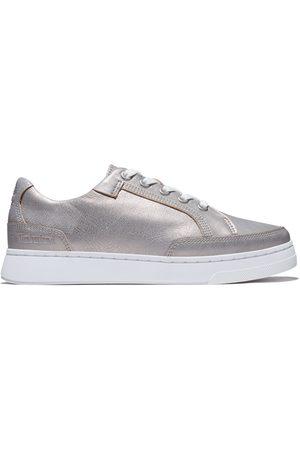 Timberland Atlanta Green Sneaker Voor Dames In Zilver Zilver, Grootte 42
