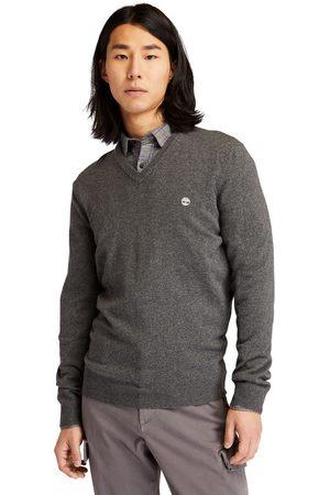 Timberland Cohas Brook V-neck Sweater Voor Heren In Donkergrijs Donkergrijs, Grootte 3XL