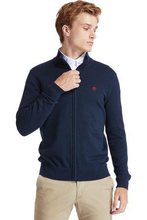 Timberland Williams River Full-zip Sweater Voor Heren In Marineblauw Marineblauw, Grootte 3XL