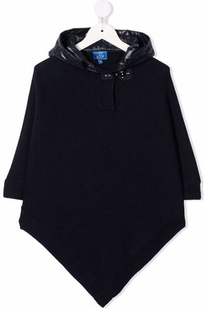 FAY KIDS Hooded knitted coat
