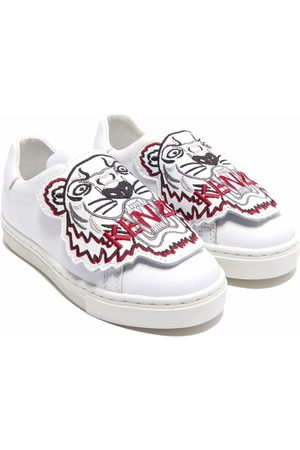 Kenzo Tiger embroidered slip-on sneakers