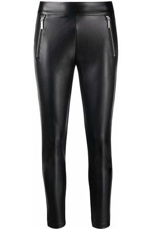 Michael Kors Skinny-cut faux leather trousers