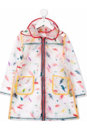 Sonia Rykiel Enfant Abstract print raincoat