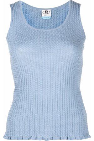 M Missoni Rib-knit top