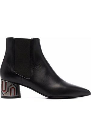 Pollini Metallic-heel boots