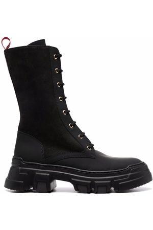 Pollini Dames Veterlaarzen - Ankle lace-up boots