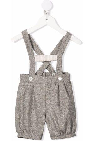 LA STUPENDERIA Baby dungaree shorts
