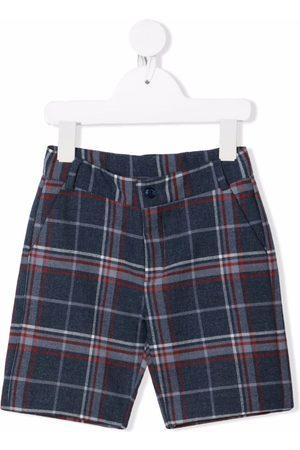 KNOT Jongens Shorts - Check-print shorts