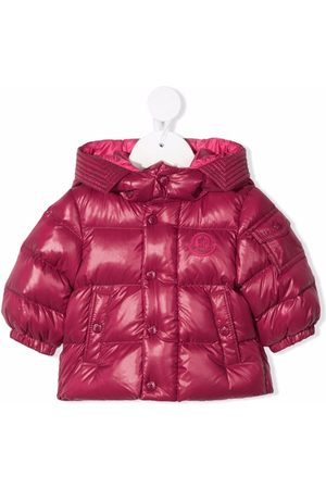 Moncler Hooded padded down coat