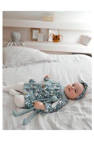 Vertbaudet Baby Panty's - Set jurk + panty + haarband baby medium aop - 18-4612 tcx