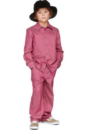 BO(Y)SMANS T-shirts - Kids Pink Denim Shirt