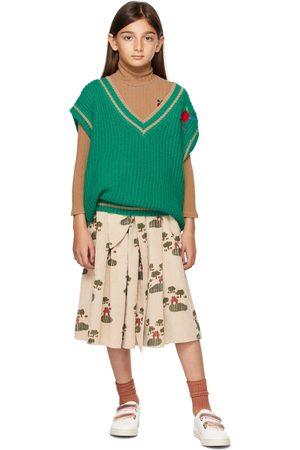 Weekend House Kids Vesten - Kids Green Merino Wool Vest