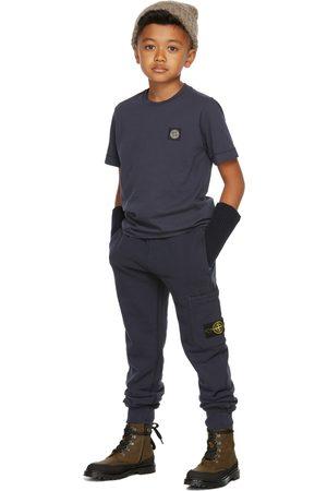 Stone Island Broeken - Kids Navy Classic Lounge Pants