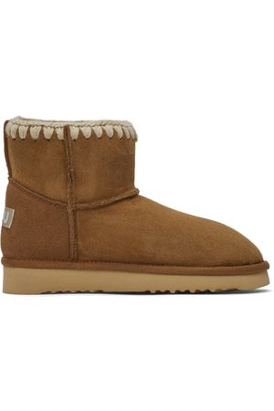 Mou Brown Suede Classic Boots
