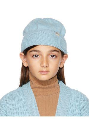 Weekend House Kids Kids Blue Merino Wool Beanie