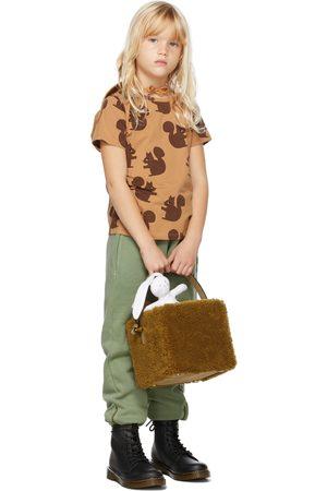 Mini Rodini Kids Tan Squirrel T-Shirt