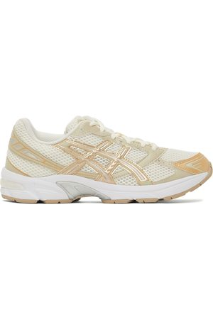 Asics Off-White & Gold Gel-1130 Sneakers