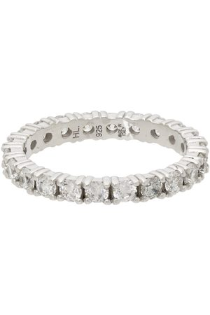 Hatton Labs Silver & White Eternity Ring