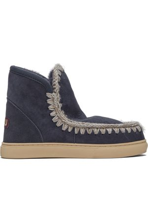 Mou Navy Sneaker Boots
