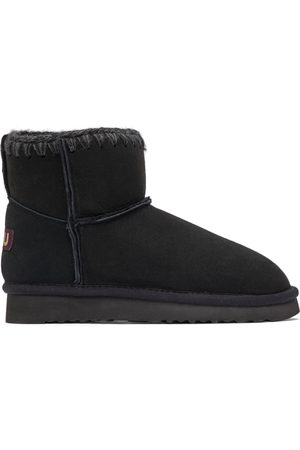 Mou Black Suede Classic Boots