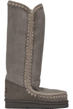 Mou Grey Suede 40 Boots