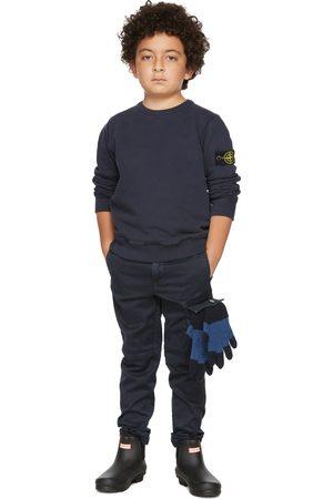 Stone Island Junior Kids Navy Classic Sweatshirt