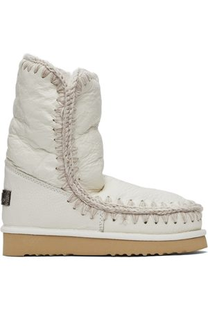 Mou White Ankle 24 Boots