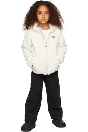 The North Face Kids White Fleece Campshire Hoodie